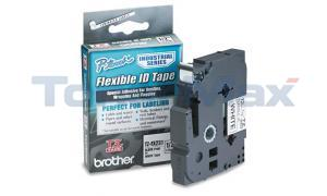 BROTHER TZ TAPE CTG FLEX TAPE BLACK ON WHITE 1/2IN (TZ-FX231)