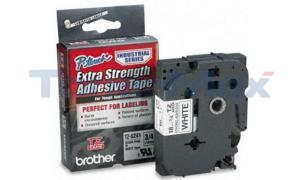 BROTHER TZ EXTRA-STRENGTH TAPE BLACK/WHITE 3/4IN (TZ-S241)