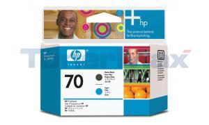 HP DESIGNJET Z2100 NO 70 PRINTHEAD MATTE BLACK AND CYAN (C9404A)