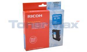 RICOH GX3000 PRINT CARTRIDGE CYAN 1K (405533)