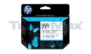 HP NO 771 DESIGNJET PRINTHEAD PHOTO BLACK/LIGHT GRAY (CE020A)