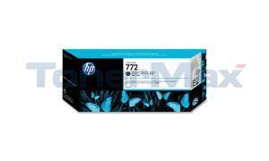 HP NO 772 INK CARTRIDGE MATTE BLACK 300ML (CN635A)