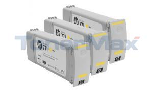 HP NO 771 DESIGNJET INK CTG YELLOW (CR253A)