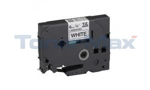 Compatible for BROTHER TZ LAMINATED TAPE BLACK ON WHITE 0.35 IN X 26.2 FT (TZE-221)