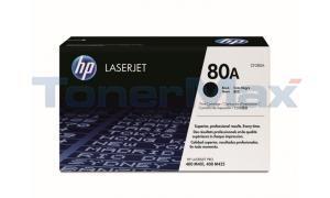 HP 80A TONER CARTRIDGE BLACK 2.7K (CF280A)