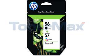 HP NO 56 57 INKJET PRINT CART CMYK COMBO PACK (C9321BN#140)