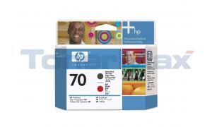 HP DESIGNJET Z3100 NO 70 PRINTHEAD MATTE BLACK AND RED (C9409A)
