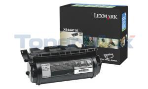 LEXMARK X644E RP TONER CARTRIDGE BLACK 10K (X644A11A)