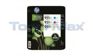 HP NO 951XL INK CART COLOR COMBO-PACK (CR318BN)