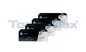 HP 305A PRINT CARTRIDGE BUNDLE PACK (BLACK, CYAN, MAGENTA, YELLOW) (HP-305A-BUNDLE)