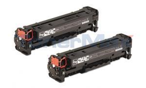 Compatible for HP COLOR LJ CP2025 CM2320 PRINT CART BLACK DUAL PACK (CC530AD)