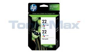 HP NO 22 INKJET CART TRI-COLOR (CC580FN)