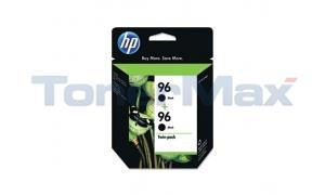 HP NO 96 INK CARTRIDGE BLACK TWIN PACK (C9348FN#140)