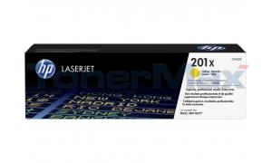 HP NO 201X TONER CARTRIDGE YELLOW (CF402X)