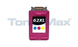 Compatible for HP 62XL INK CARTRIDGE TRI-COLOR (C2P07AN)
