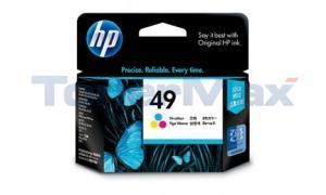 HP OFFICEJET 500 520 570 INKJET TRI-COLOR (51649A)